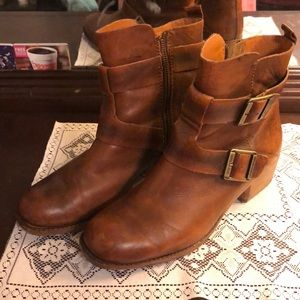 Kork-Ease leather boots